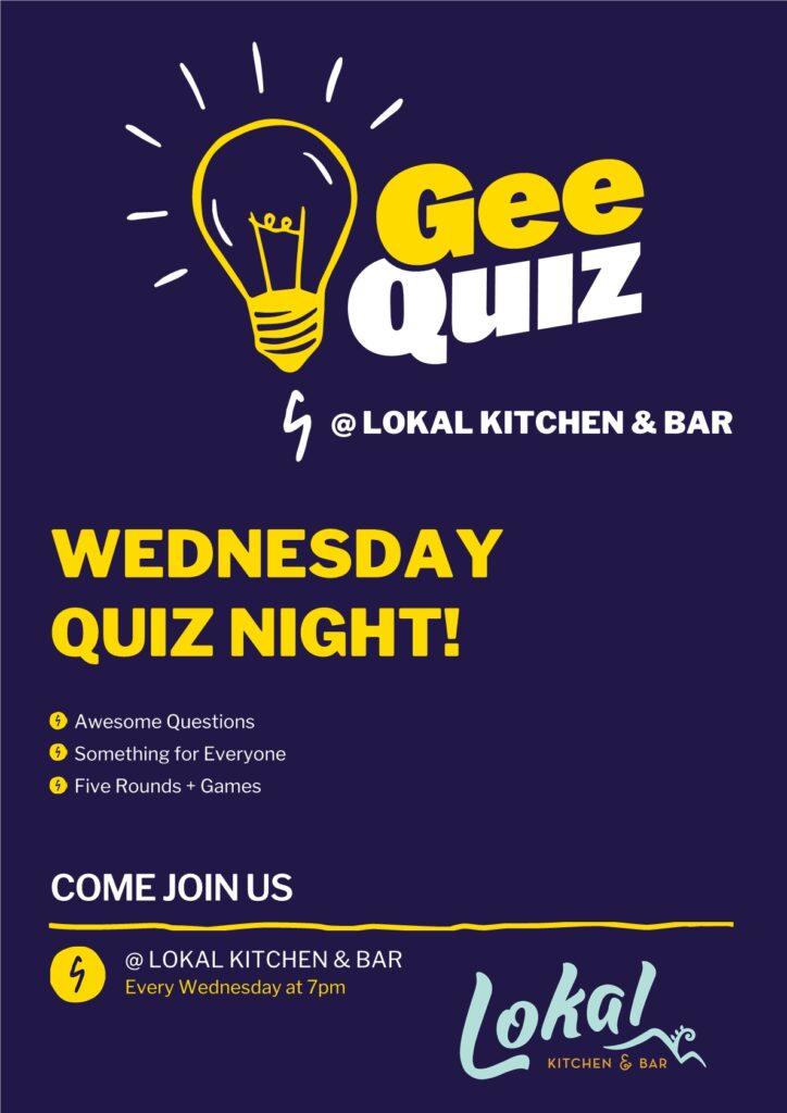 Quiz Night at Lokal Kitchen and Bar